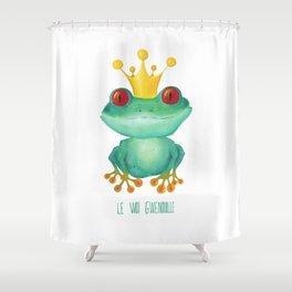 Le Woi Gwenouille Shower Curtain