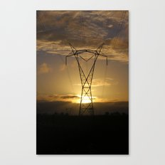 Power and Beauty Canvas Print