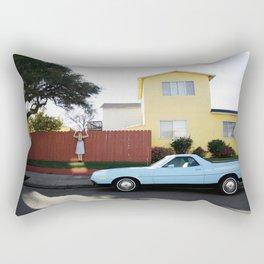 """Over the Fence"" Rectangular Pillow"