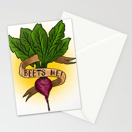 Beets Me! Stationery Cards