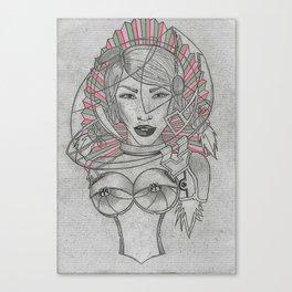 Fashion Heroes Enja Petrovna Canvas Print