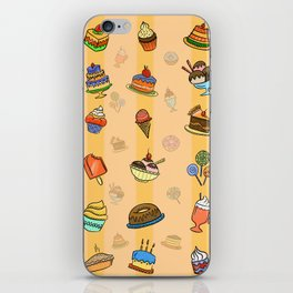 Whimsy desserts iPhone Skin