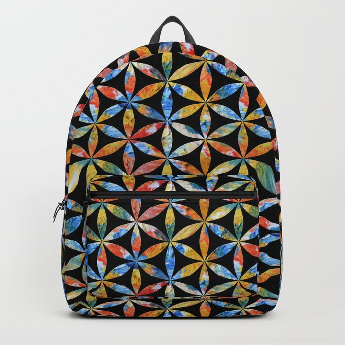 Flower of Life Pattern 4 Backpack