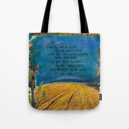 Farmers Blessing by Seattle Artist Mary Klump Tote Bag