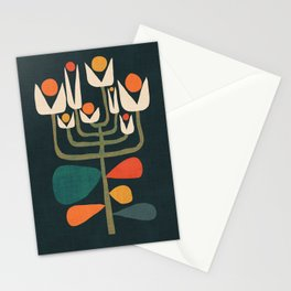 Retro botany Stationery Cards