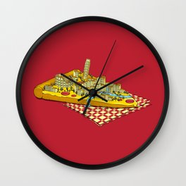 Hungry for Travels: Slice of Italy Wall Clock