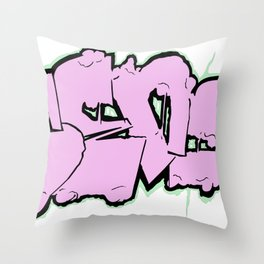 Sticky Icky Throw Pillow