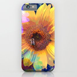 Summer's Sweetest Sunflowers iPhone Case