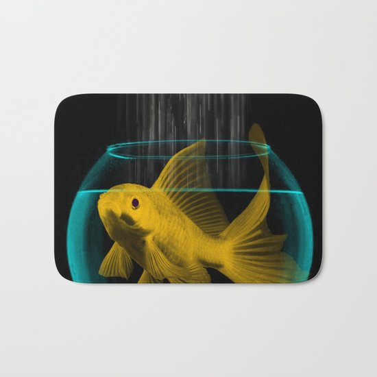 A fish out of water Bath Mat