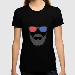 3D beard T-shirt