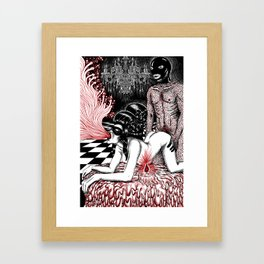 Hazardous Ride Framed Art Print