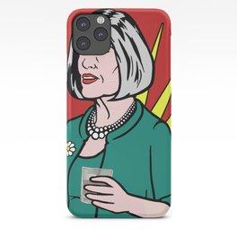 Malory Archer Lichtenstein iPhone Case