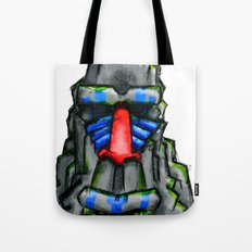 All hail the great Monkey Rock! Tote Bag