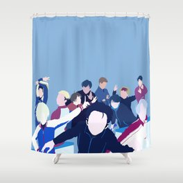 Yuri!!! on Ice Minimalism Shower Curtain