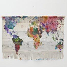 map Wall Hanging