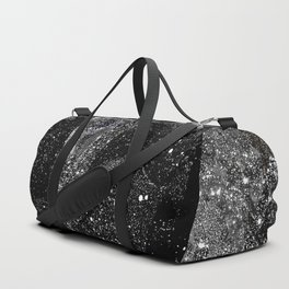 Silver Wonderland Duffle Bag