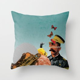 Sgt.  Throw Pillow