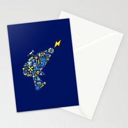 BLASTER BOY Stationery Cards