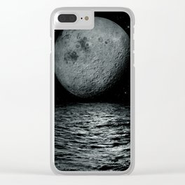 artificial satellite Clear iPhone Case
