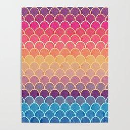 Watercolor Lovely Pattern VVIV Poster