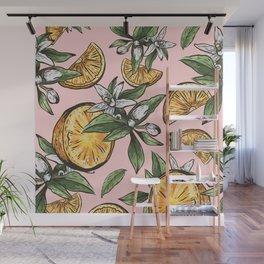 Lemon Crush Wall Mural