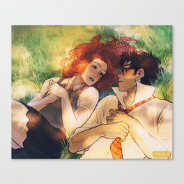 I love you, Lily Evans Canvas Print