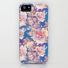 Testing The Flowers. iPhone Case