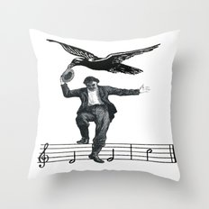 Saved By The Music Again  Throw Pillow