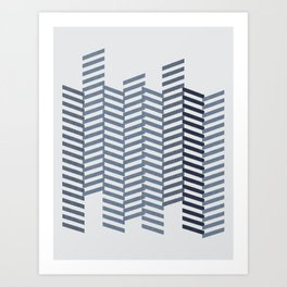 DENIM JEANS Art Print