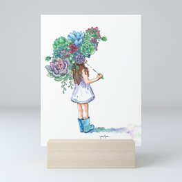 You Grow, Girl Mini Art Print