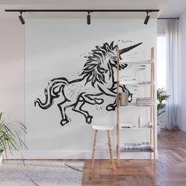 Five Legged Unicorn Wall Mural