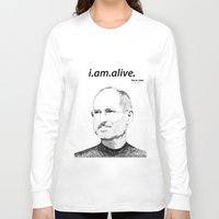 in the flesh Long Sleeve T-shirts featuring In the Flesh? by Ramo
