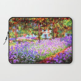 Monets Garden in Giverny Laptop Sleeve