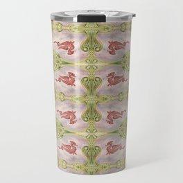 Deco Dragon Pattern II Travel Mug