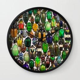 Beetle Mania Wall Clock