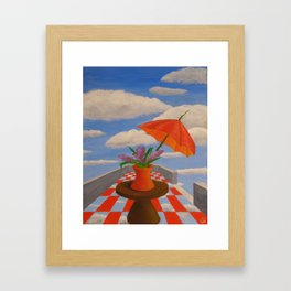 the changing Framed Art Print