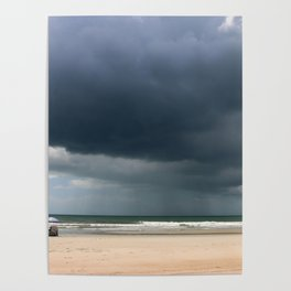 A Peaceful Day At The Seaside Poster