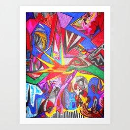 inksanity Art Print