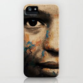 The Human Race 6 iPhone Case