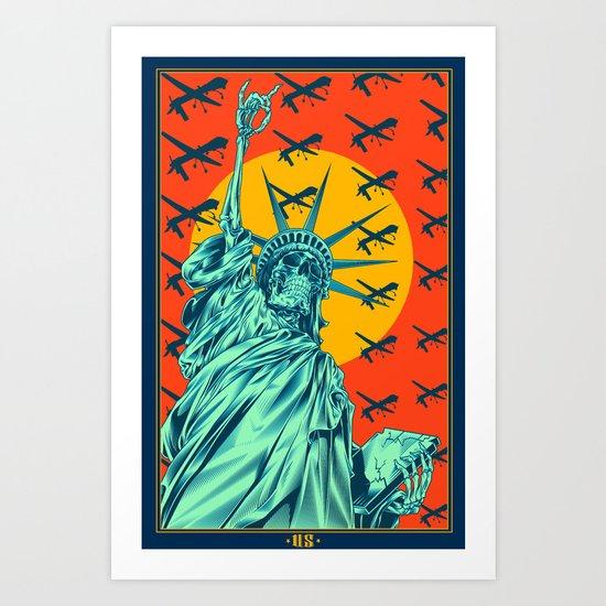 (us) Art Print