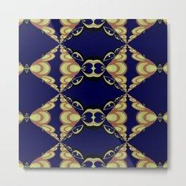 Basically Yellow Pattern 7 Metal Print