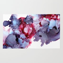 Alcohol Ink Abstract 171221 Rug