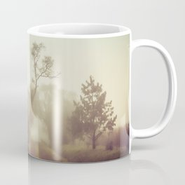 Walking in the fog Coffee Mug