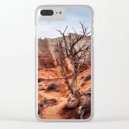 Picturesque Trail through Kodachrome Basin State Park Clear iPhone Case