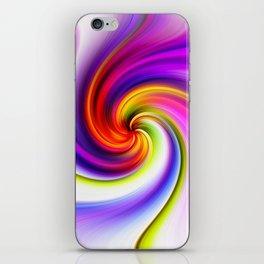 Tulip Twirl iPhone Skin