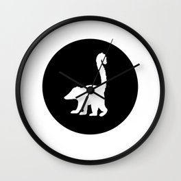 Coati Wall Clock