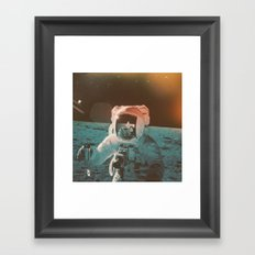Project Apollo - 7 Framed Art Print