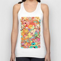 kpop Tank Tops featuring Wackoblast! by Sillyrabs