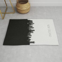 City Skylines: New Orleans (Alternative) Rug