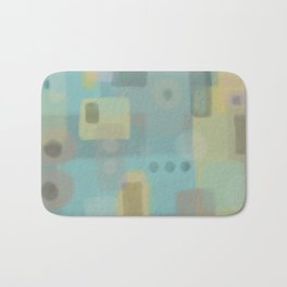 Some of this and that - Abstract Digital Art Bath Mat